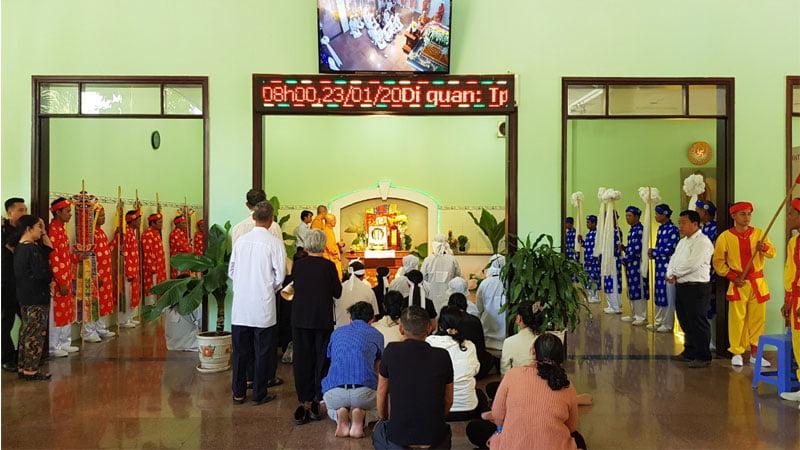Nghi thức lễ cầu siêu theo tính ngưỡng từng tôn giáo