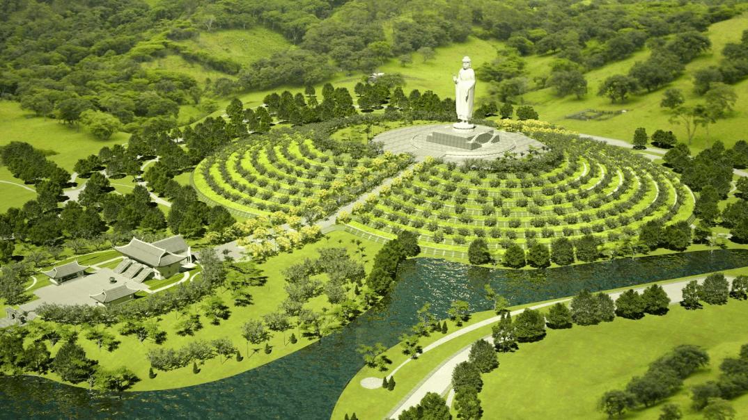 Toàn cảnh dự án công viên vĩnh hằng Ba Vì