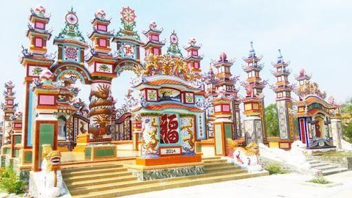 Kiến trúc của Làng Lăng Mộ An Bằng