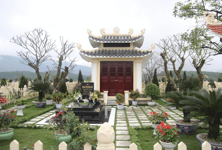 Khu mộ gia tộc, gia đình tại nghĩa trang Vĩnh Hằng Ba Vì