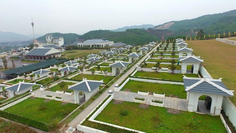 Nghĩa trang An lạc là công viên tâm linh xanh – sạch – đẹp