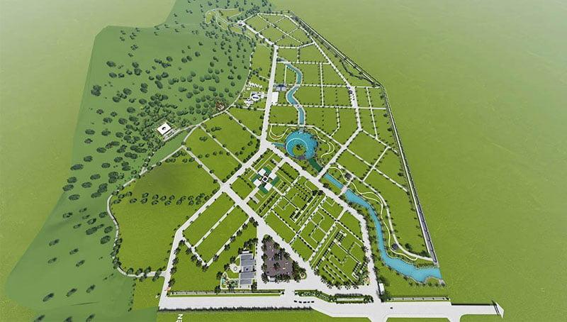 Toàn cảnh nghĩa trang Bình Định An Viên