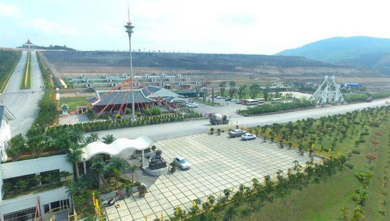 Công viên được thiết kế phù hợp với văn hoá tâm linh của người Á Đông