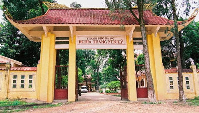 Nghĩa trang Yên Kỳ Ba Vì Hà Nội