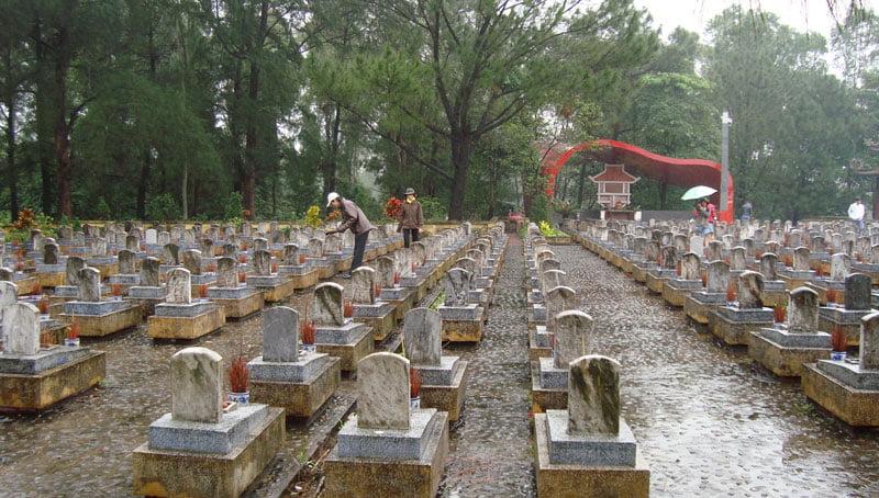 Nghĩa trang liệt sĩ Trường Sơn - Nơi yên nghỉ của các liệt sĩ