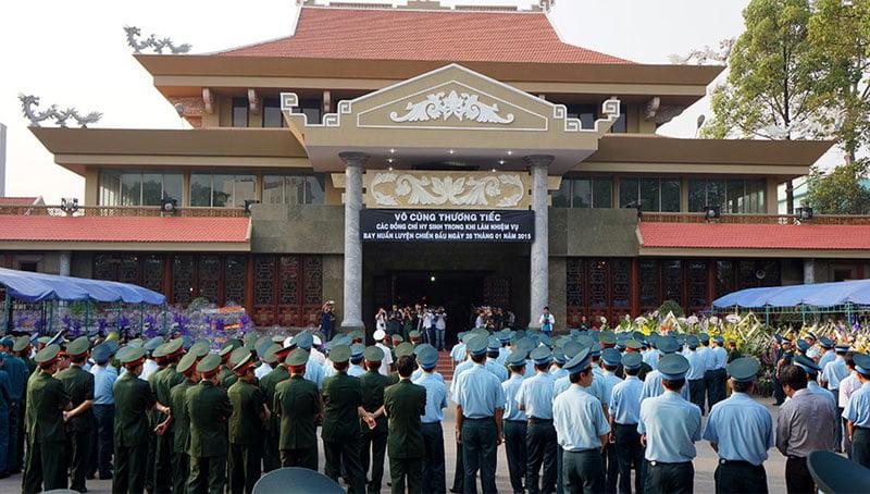 Nhà tang lễ Bộ Quốc Phòng dành cho cán bộ