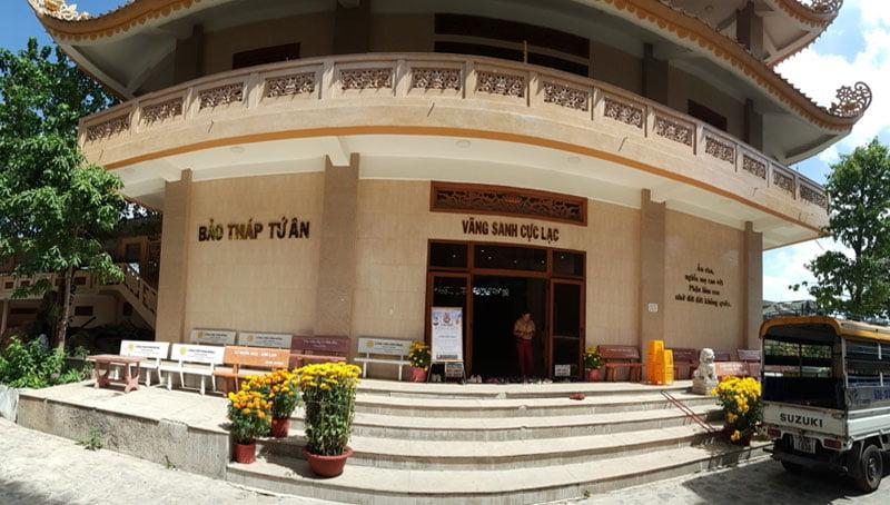 Nhà tang lễ pháp viện Minh Đăng Quang