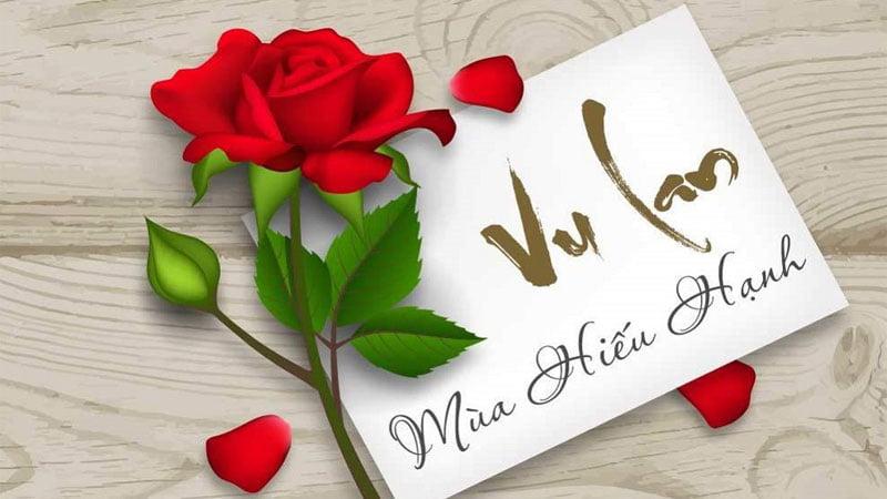 Hoa hồng tặng mẹ ngày Vu Lan
