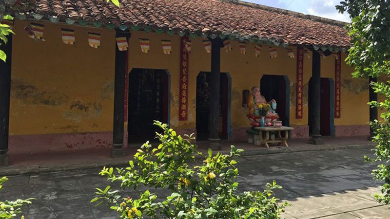 Khuôn viên chùa Giác Viên