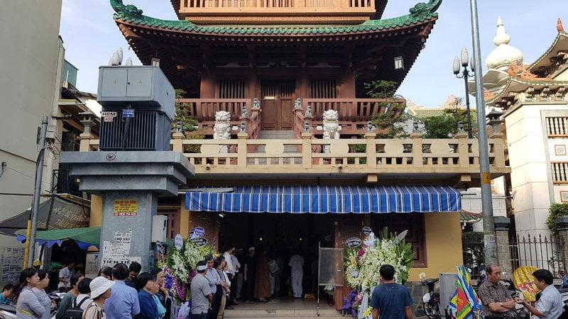 Nhà tang lễ Chùa Ấn Quang