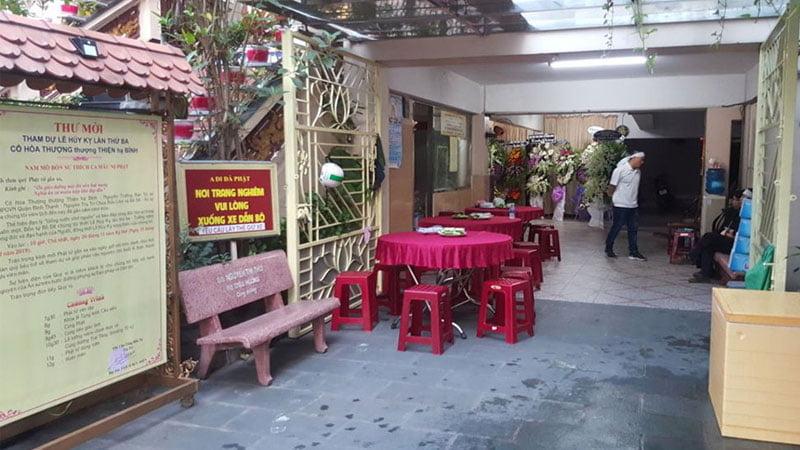 Nhà tang lễ Chùa Bồ Đề