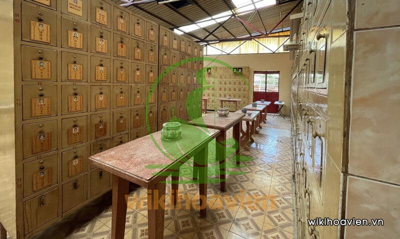 Hình ảnh khu lưu tro cốt cao cấp ở chùa Nam Phổ Đà
