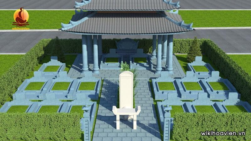 Lăng mộ gia tộc là nơi an nghỉ gồm nhiều thế hệ