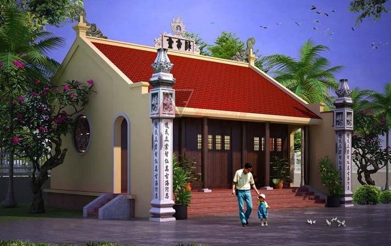 Phối cảnh 3D nhà thờ họ