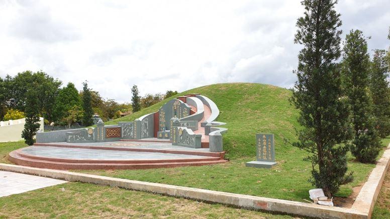 thao khảo thiết kế khu mộ gia đình đẹp 2