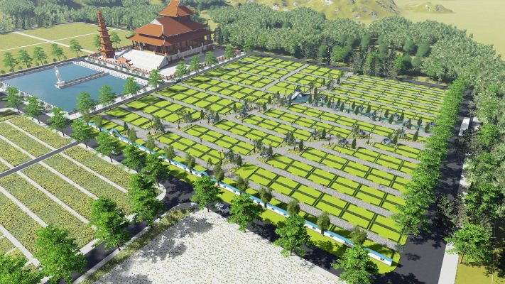 Quy hoạch Khu Minh Nguyệt phía Đông chùa Vĩnh Nghiêm bên trong dự án