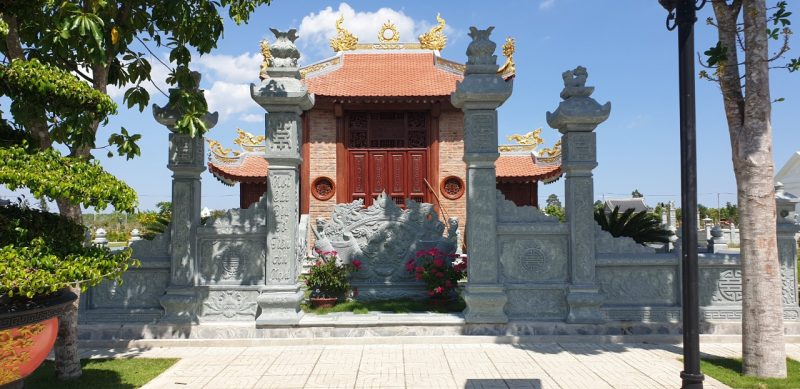 Một khuôn viên mộ gia tộc đẹp tại Hoa viên Bình An