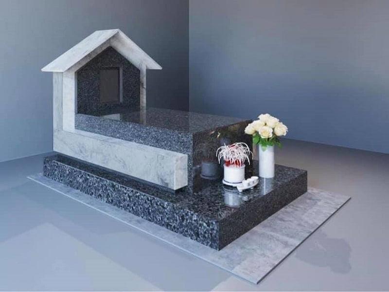 mẫu mộ đơn tại công viên nghĩa trang 2