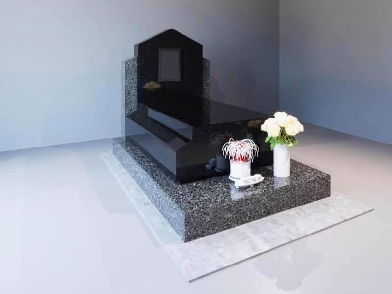 mẫu mộ đơn tại công viên nghĩa trang 3