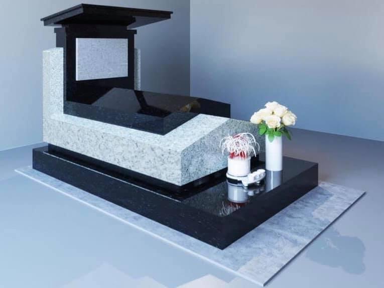 mẫu mộ đơn tại công viên nghĩa trang 4