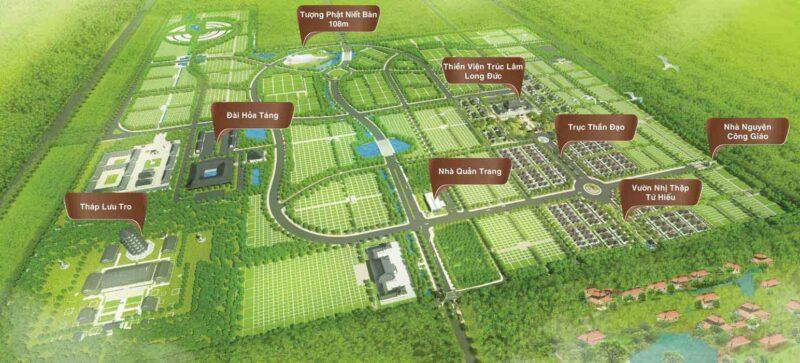 Một dự án Hoa viên tại Long Thành - Bất động sản Hoa Viên